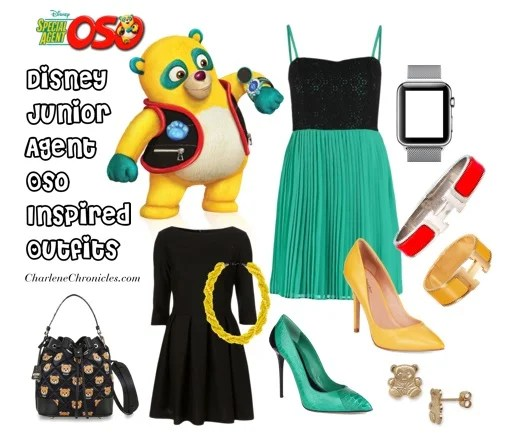 agent oso inspired outfits disney social media moms celebration