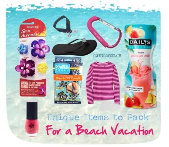 beach items for a vacation copy