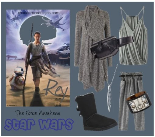 Rey Costume Idea Star Wars The Force Awakens Outfit
