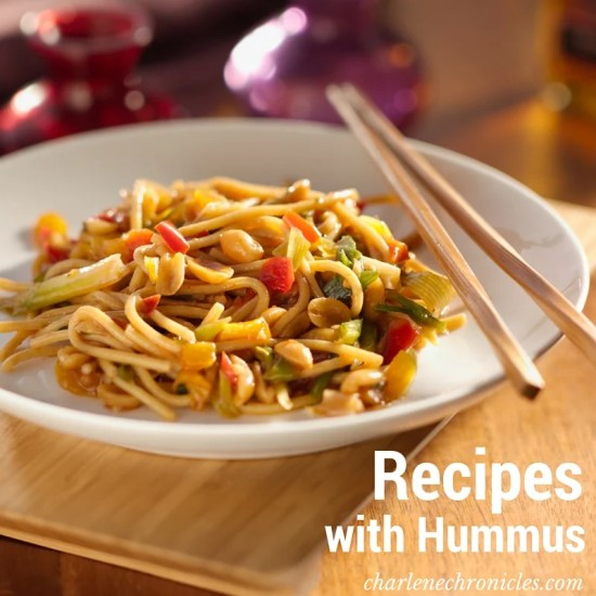 recipes with hummus and pasta