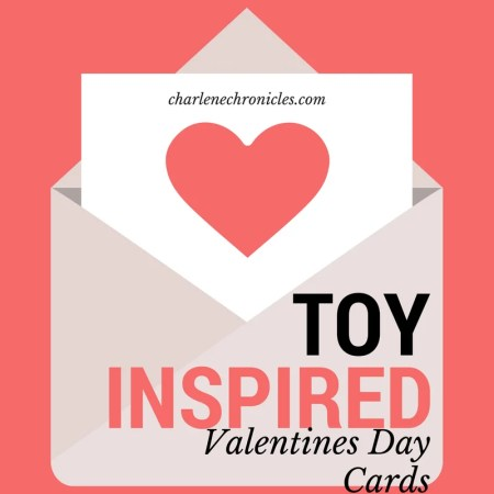 toy inspired valentines day cards