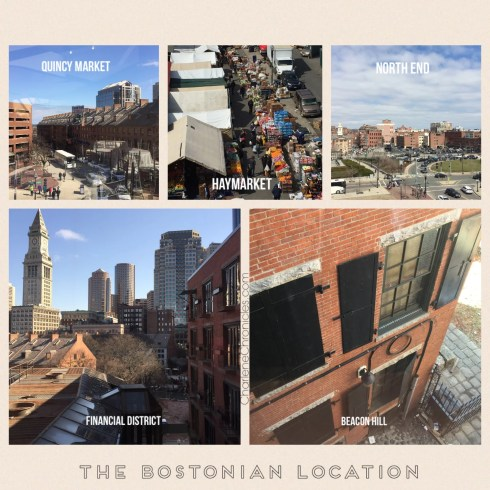 the millenium bostonian hotel amenities