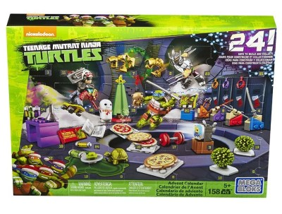 mega bloks turtle advent calendar