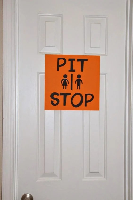 monster truck party sign ideas