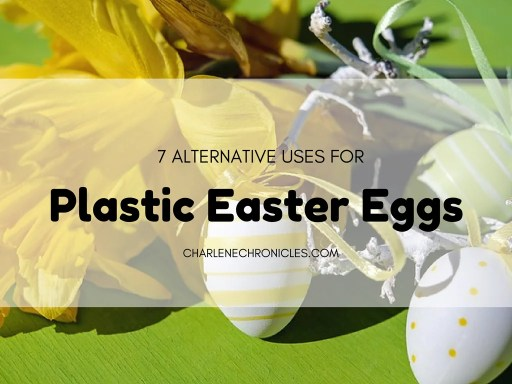 alternative uses for plastic easter eggs craft ideas