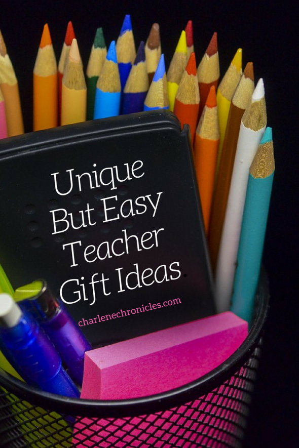 Here are unique but easy ways to say thank you to teachers, bus drivers, instructors and more for end of the year or holiday gift ideas