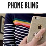 Glam Alert: Glitter iPhone Cover and Ring!