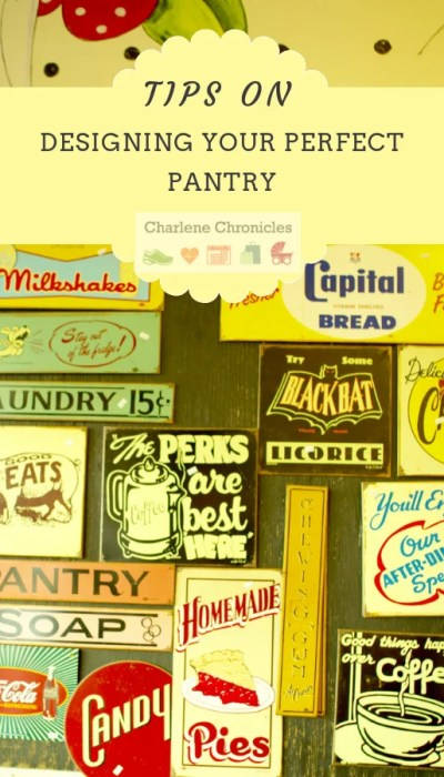 pantry inspiration ideas from charlenechronicles
