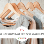 Neutral Colors for a Wardrobe