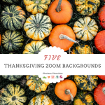 five thanksgiving zoom backgrounds