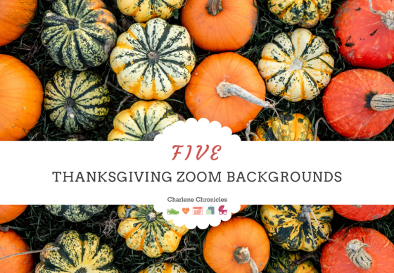 Five Thanksgiving Zoom Backgrounds For The Holidays
