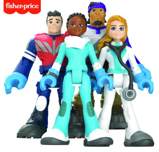 Fisher-Price #ThankYouHeroes Line (Mattel)
