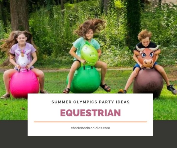 summer olympic themed party ideas equestrian