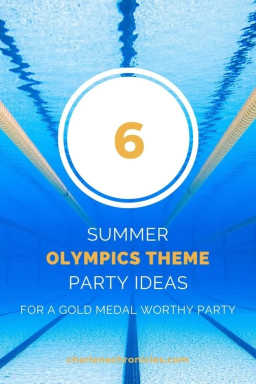summer olympic themed party ideas for outdoor summer parties