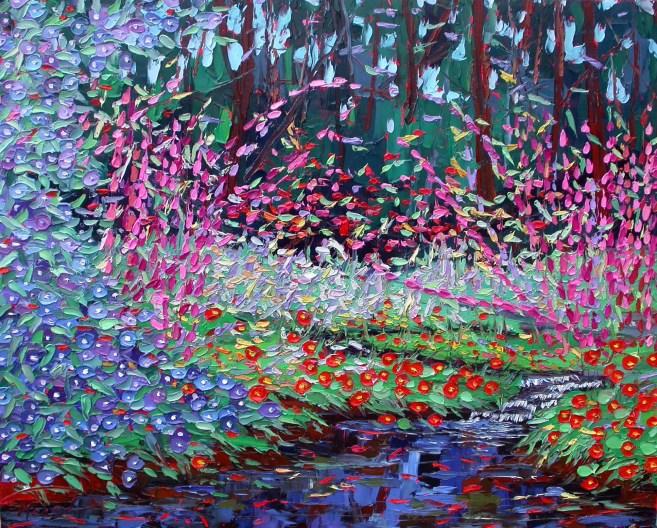 commission oil painting plein air studio oil paintings by Charlene Marsh