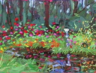 plein air studio oil paintings by Charlene Marsh
