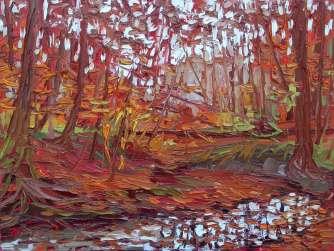 Plein air oil painting impressionism by Charlene Marsh