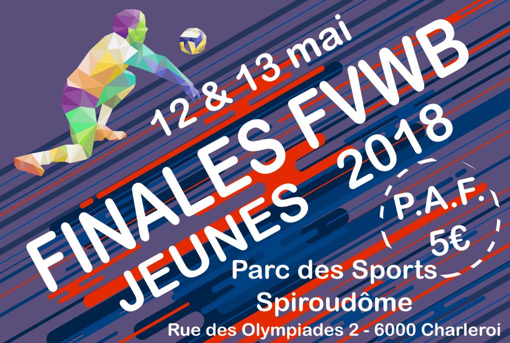 Extrait affiche Finales FVWB Jeunes 2018
