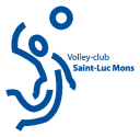 Logo Volley Club Saint-Luc Mons