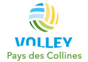 Logo Volley Pays des Colinnes