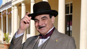 David Suchet  in Agatha Christie's Poirot - Cozy Mystery crime fiction