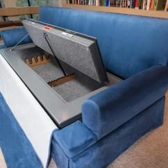 Sofa Gun Safe Wooden Online Chennai Couchbunker Charles Alan American Furniture Manufacturer