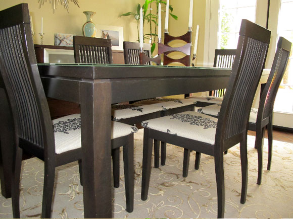 Dining Table Reupholster Dining Table Chairs