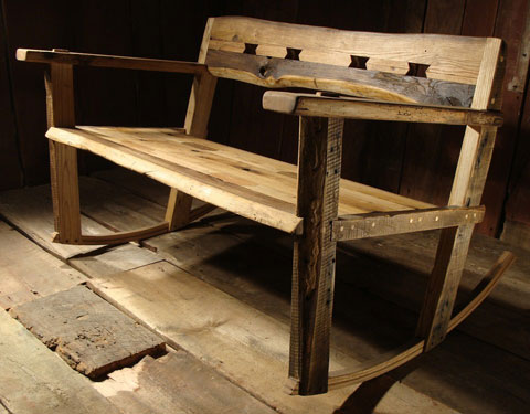 Attirant Out Of The Box Furniture Finds On Etsy. Reclaimed Rocker Etsy