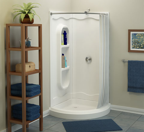 Spankin New Shower Enclosures