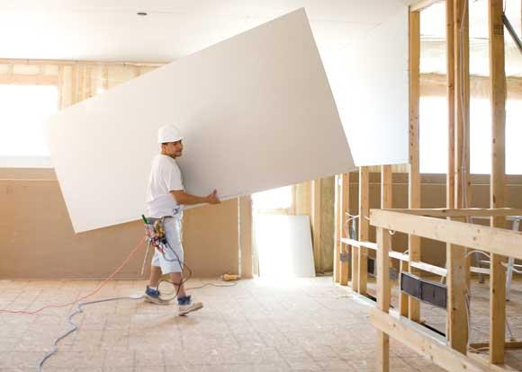 Ultralight Sheetrock Drywall Panels From Usg