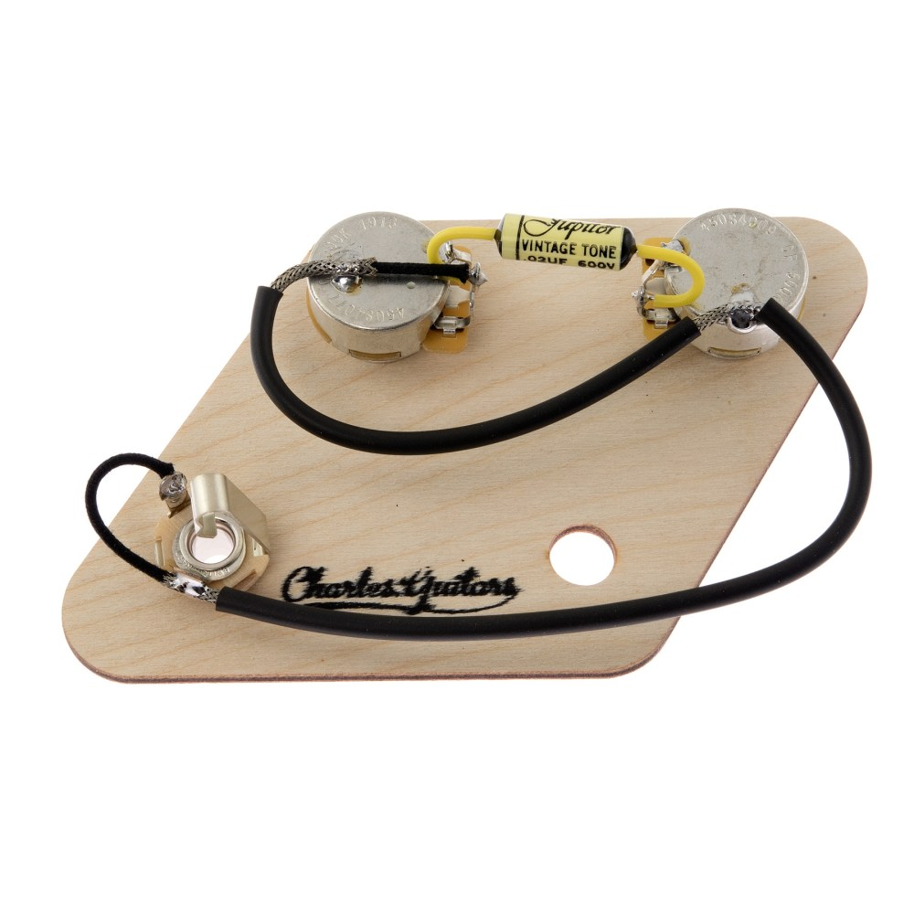 medium resolution of les paul junior pre wired jupiter kit tap to expand