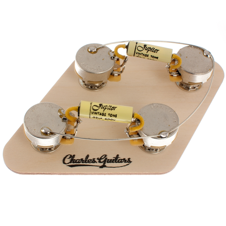 hight resolution of long shaft les paul pre wired jupiter kit tap to expand