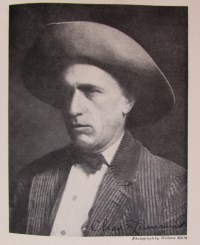 Charles Lummis photographed by William Keith, from Bronco Pegasus.
