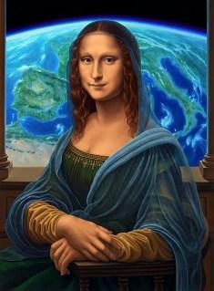 Mondo Lisa after Da Vinci