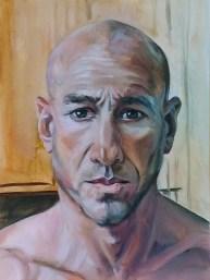 Worried Self Portrait
