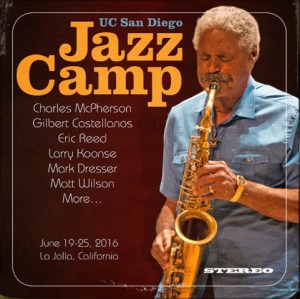 Charles McPherson Jazz Camp 2016 photo