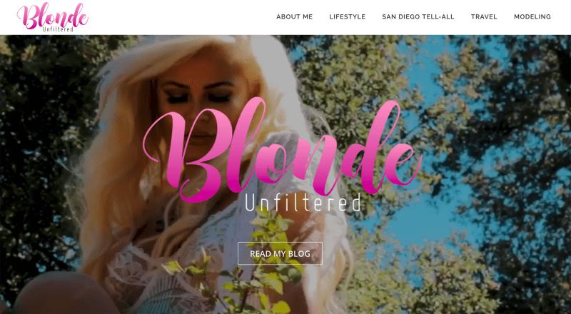 blonde unfiltered