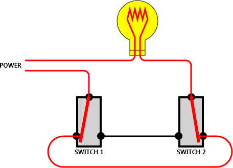 Two Way Electrical Switch Wiring Diagram 3 Way Light Switch Wiring