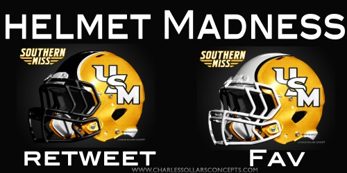 Southern Miss helmet madness round 2 set 3