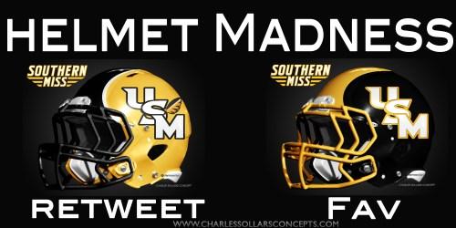 Southern Miss helmet madness round 2 set 6