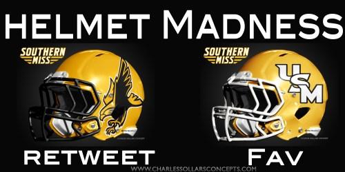 Southern Miss helmet madness round 2 set 7