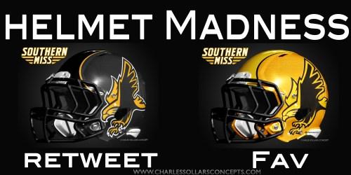Southern Miss helmet madness round 2 set 8