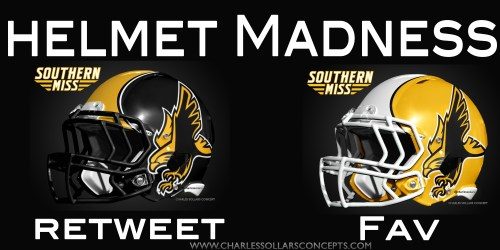 Southern Miss helmet madness round 2 set 9