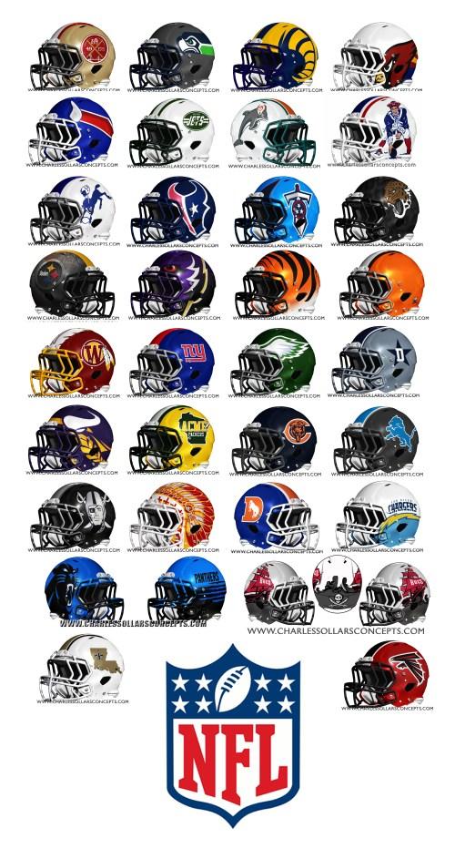 NFL Rebrand ALL 32