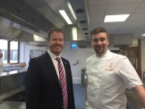 Mr O'Neill and Mike Mathieson from the Albert Roux Consultancy