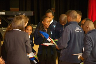 Botswana students receive gifts from Charleston Academy