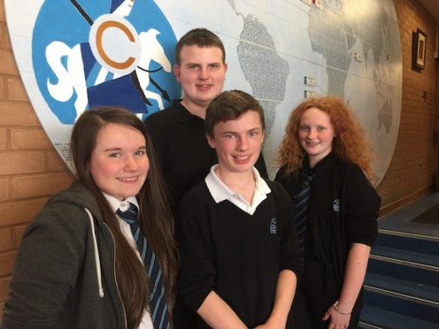 Emma, Struan, Robert and Catherine go through to the Scottish Finals.