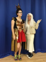 Second Place: The Red Queen & The White Queen
