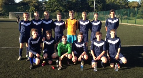 Senior Football Team on our AstroTurf