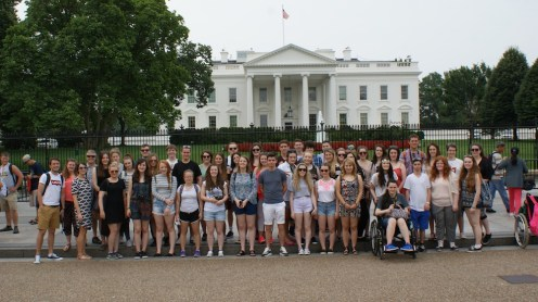 Group Photo at the White House